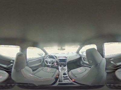 360° Innenansicht SEAT Arona      1,0 TSI FR DiCo/Nav/LED/2xPDC/Apple/WP