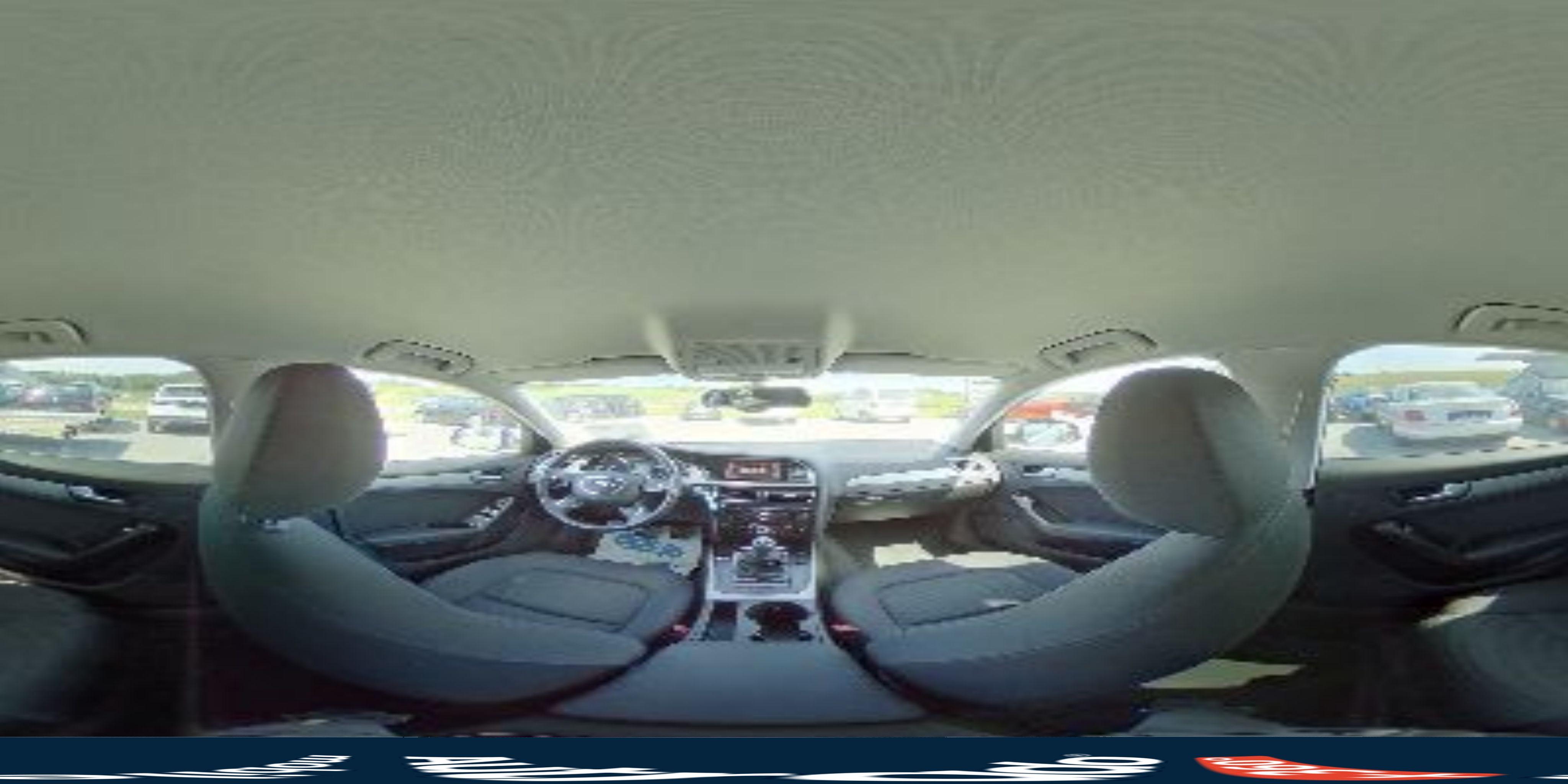 360° Innenansicht Audi A4 Limousine      (B8) 2,0 TDI DPF