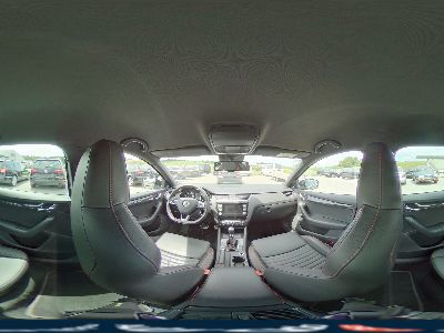 360° Innenansicht Skoda Octavia Combi      RS2,0 TDi Green tec DSG