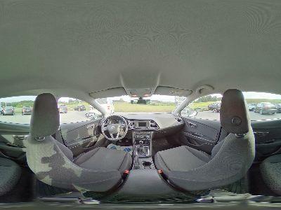 360° Innenansicht Seat Leon      Executive 1,6 TDI