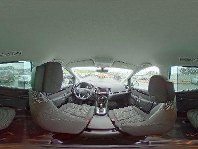 360° Innenansicht Seat Alhambra      Executive 2,0 TDI DSG 4WD