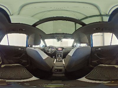 360° Innenansicht Volkswagen T-Roc      Sport R-Line WLTP 2.0 TSI DSG OPF 4Motion 140kW / 190PS