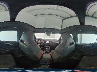 360° Innenansicht Skoda Kodiaq      RS WLTP 2.0 Bi-TDI DSG 4x4 176kW / 239PS