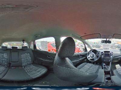 360° Innenansicht Kia Venga      Business Metallic NAVI PDC Klimaauto Winterpaket