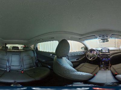 360° Innenansicht Hyundai Tucson      Premium Vollleder Navi 19 Zoll LED Sitzheizung