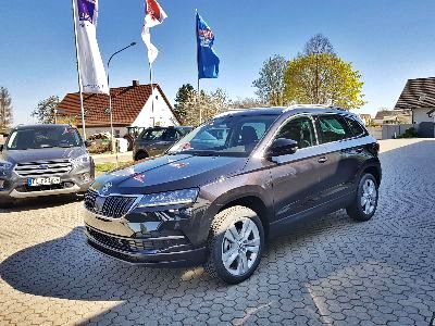 "Skoda Karoq Style 1.5 TSI 110 kW 16V ACT-ANHÄNGEKUPPLUNG SCHWENKBAR-DIGITALES KOMBI-ELEKTRISCHE HECKKLAPPE-NAVI AMUNDSEN 8""-KAMERA"