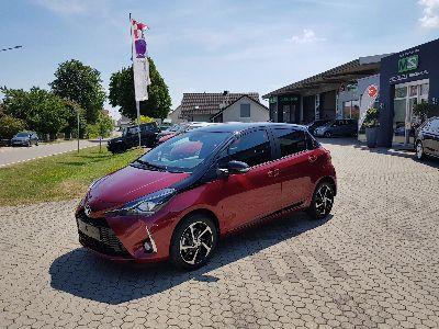 Toyota Yaris Style Selection 1.5 Dual VVT-iE 6-Gang! SCHWARZES DACH ! ALU-KAMERA-KLIMAAUTOMATIK-PCS-AUDIO TAS500