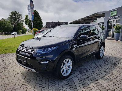 "Land Rover Discovery Sport HSE 2.0 TD4 110KW-KLIMAAUTOMATIK-STANDHEIZUNG-TEMPOMAT MIT ACC-NAVIGATION-ANHÄNGERKUPPLUNG-PANORAMADACH- BI XENON-ALU 19""-FUßGÄNGERAIRBAG-PDC-RÜCKFAHRKAMERA"