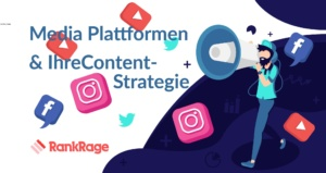 Social Media Plattformen Content Strategien RankRage SEO & Online Marketing