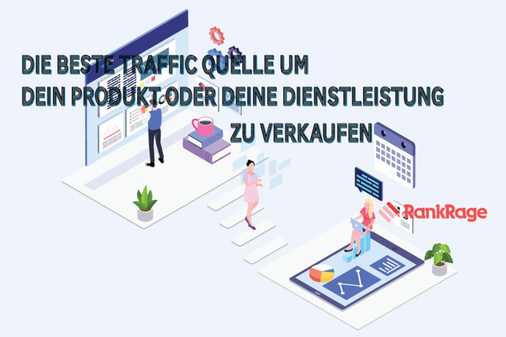 beste traffic quelle für webseite produkt e-commerce shop