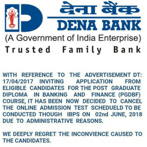 dena bank of india