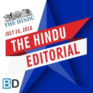 THE HINDU EDITORIAL : FEBRUARY 1, 2019 -