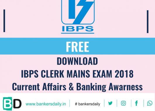 Banking Awareness Capsule Pdf