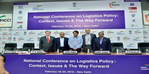 National Conference on Logistics Policy held in New Delhi : -