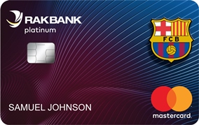 Rakbank FC Barcelona Platinum Card
