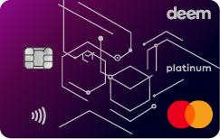 Deem Mastercard Platinum Cash Up Credit Card
