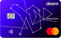 Deem Mastercard Titanium Miles Up Credit Card