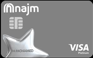 NAJM Platinum Cashback Card