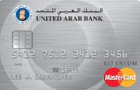 United Arab Bank Titanium Card