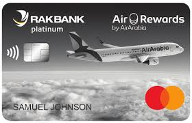 Rakbank Air Arabia Platinum Card