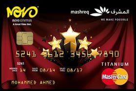 MASHREQ NOVO Cinema MasterCard