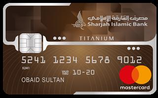 Sharjah Islamic SMILES Titanium Mastercard