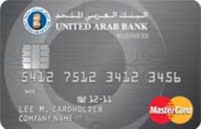 United Arab Bank Business Card