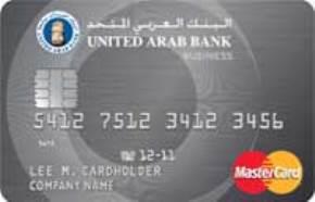 United Arab Bank Business Card
