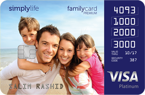 SimplyLife Family Card