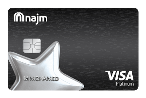 NAJM Platinum Plus Cashback Card