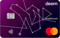 Deem Mastercard Platinum Miles Up Credit Card