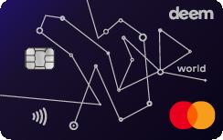 Deem Mastercard World Miles Up Credit Card