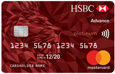 HSBC Platinum Advance Card