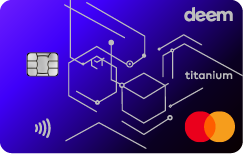 Deem Mastercard Titanium Cash Up Credit Card