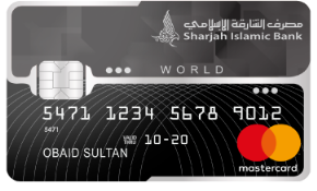Sharjah Islamic SMILES World Mastercard