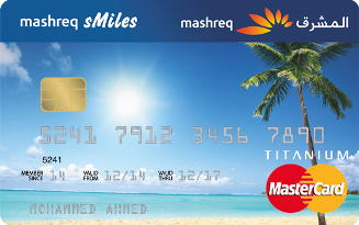 MASHREQ sMiles Titanium Card