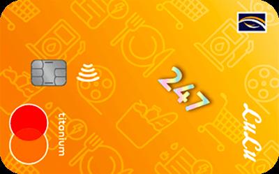 Emirates NBD LuLu Mastercard Titanium Credit Card
