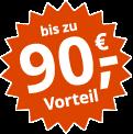 Jetzt vergleichen: Bis zu 90,- Euro Vorteil mit Online-Bonus plus Extra-Bonus zusätzlich sichern!