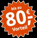 Jetzt vergleichen: Bis zu 80,- Euro Vorteil mit Online-Bonus plus Extra-Bonus zusätzlich sichern!