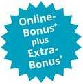 Bausparen mit Online-Bonus plus Extra-Bonus für Familien, Stammkunden und Ihre Empfehlung