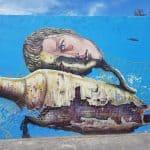 Murales al porto di Civitanova M.