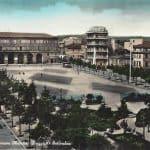 Piazza XX Settembre e Municipio. Gent. conc. famiglia Garbuglia Petrelli.