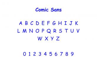 Comic Sans: breve storia della font più odiata al mondo