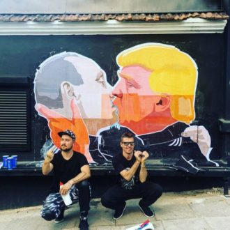 Il limone tra Trump e Putin, a Vilnius