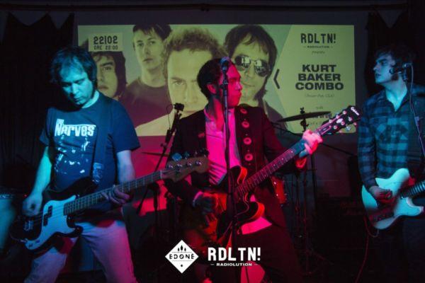 Radiolution LIVE: Kurt Baker Combo // Acid Brew @Edoné