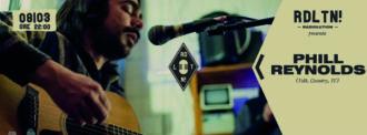 Radiolution: Phill Reynolds Live @Edoné