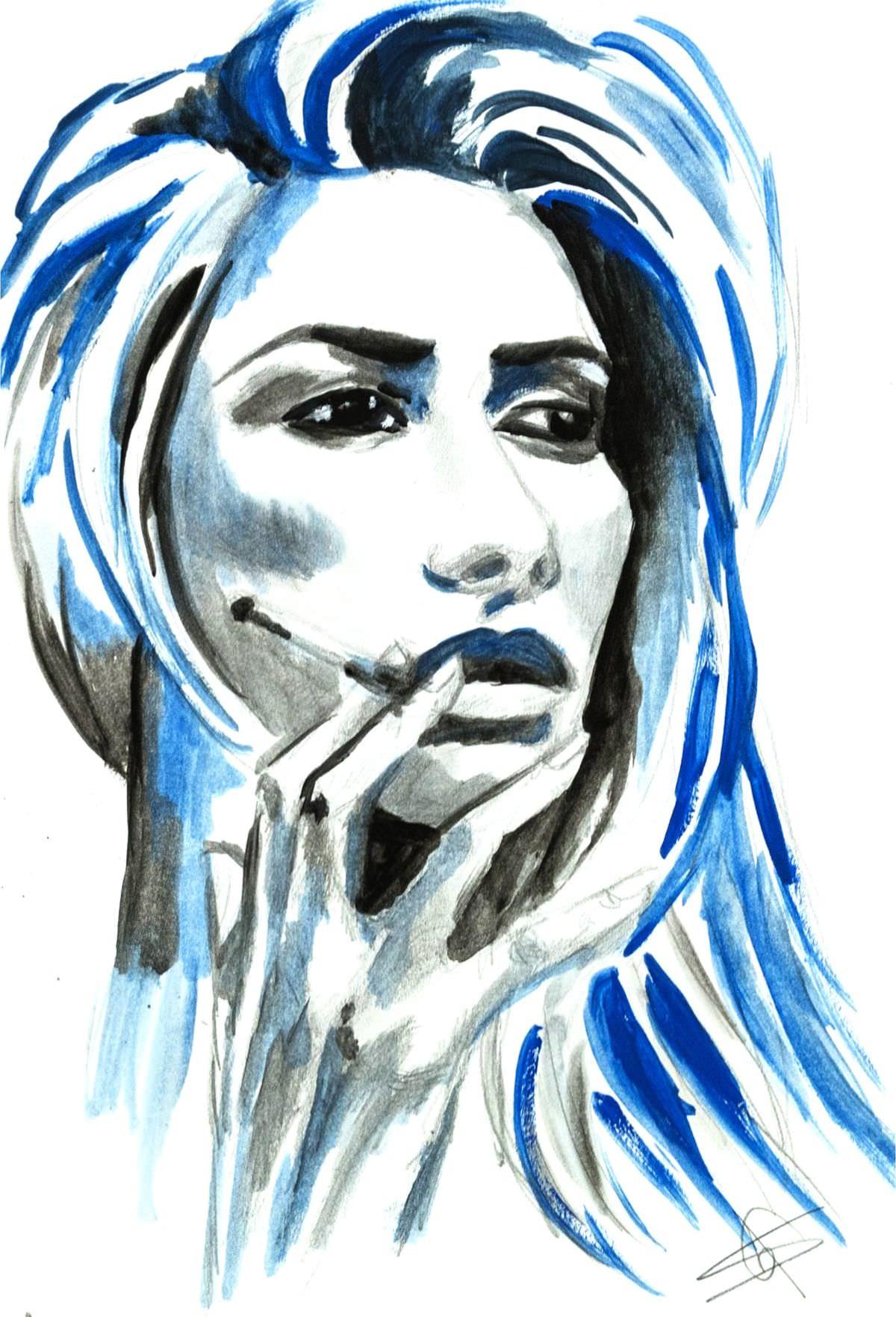 The smoker - Samantha Gandin