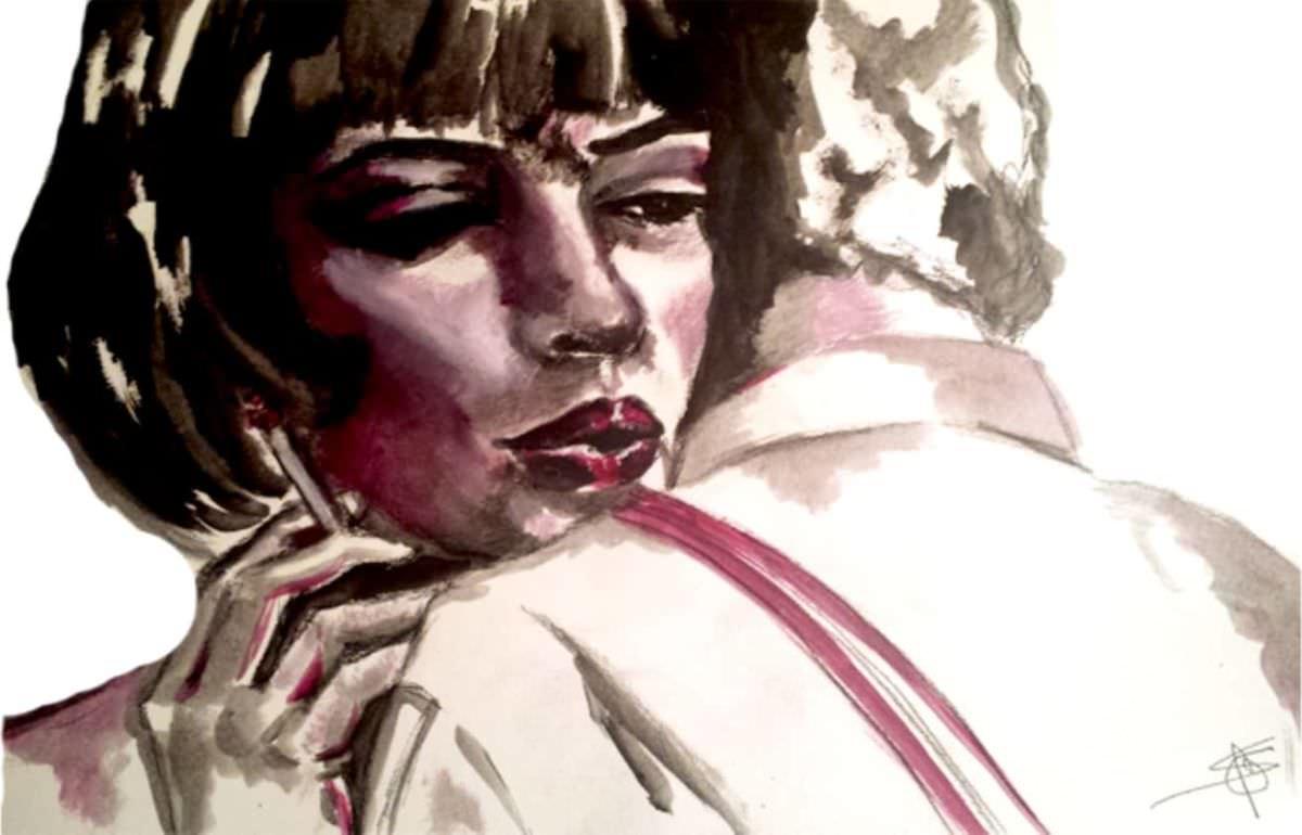 Una sigaretta - Samantha Gandin