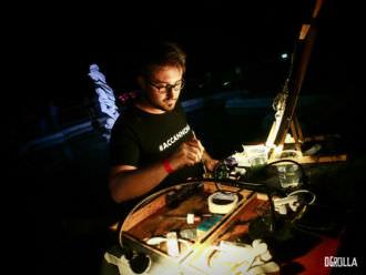 Andrea Spinelli: il live painter che è andato al Primo Maggio