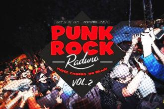 Punk Rock Raduno Vol.2, il punk esplode in tutta la città